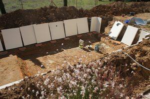 chantier aquilus piscine